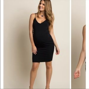 Pinkblush Fitted Cami Dress